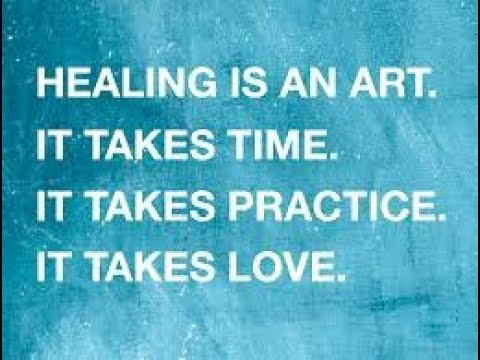 Using Everything as a Back Drop for Healing