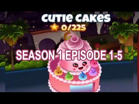 Cooking Dash 2016 - Cutie Cakes Season 1 - Episode 1-5 IOS/Android