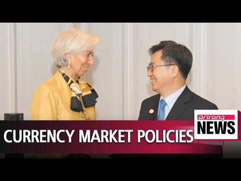 Seoul's finance minister meets IMF, World Bank heads in Washington