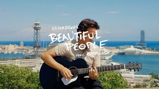 Gambar cover Ed Sheeran - Beautiful People (feat. Khalid) (José Audisio Cover)