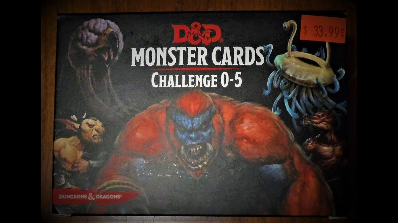 picture about Printable Monster Cards 5e called DD Monster Playing cards Situation 0-5 Opening and Evaluation