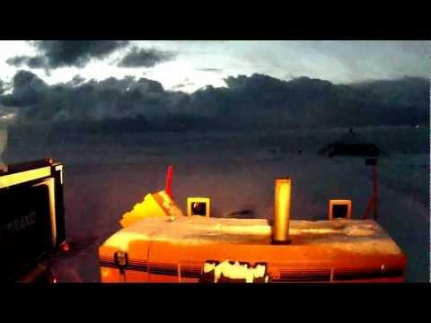 Kodiak snøfres på tur til nordkapp
