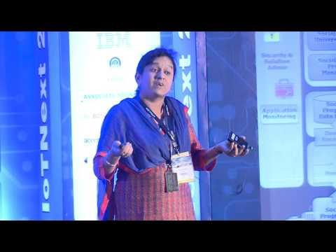 Keynote on Smart city implementationby AnupamaMurali, Associate Curriculam, IBM Software Labs