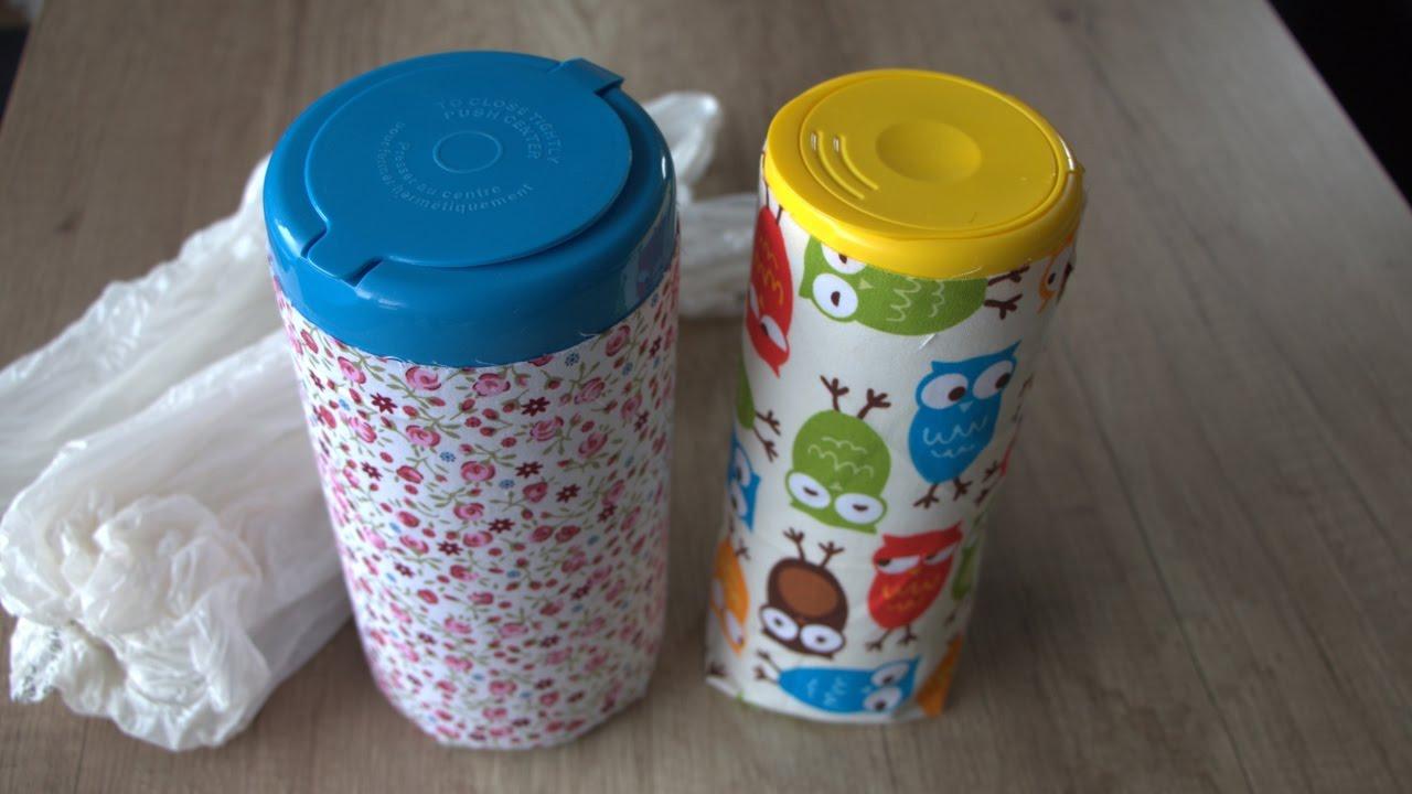 Grocery Bags Diy Plastic Bag Dispenser
