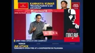India Today Conclave 2016   Kanhaiya Kumar Exclusive On Nationalism Debate