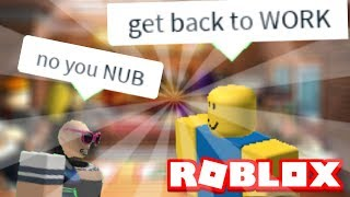 Doing DUMB things in Work at a Pizza Place (Roblox)