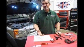 Diagnosing Bad Spark Plugs and Coils on LR3 And Range Rover video screen shot