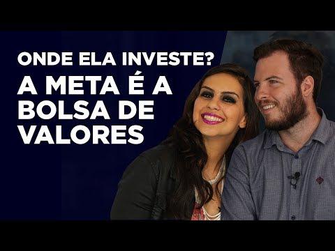 ONDE ELA INVESTE? - Julia Mendonça | A meta é a BOLSA DE VALORES!