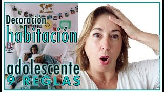 Gambar cover DECORAR LA HABITACIÓN DE UN ADOLESCENTE, 🏄♀️ mujer o 🏄♂️ varón. Las 9 Reglas de oro. ¡INFALIBLE!