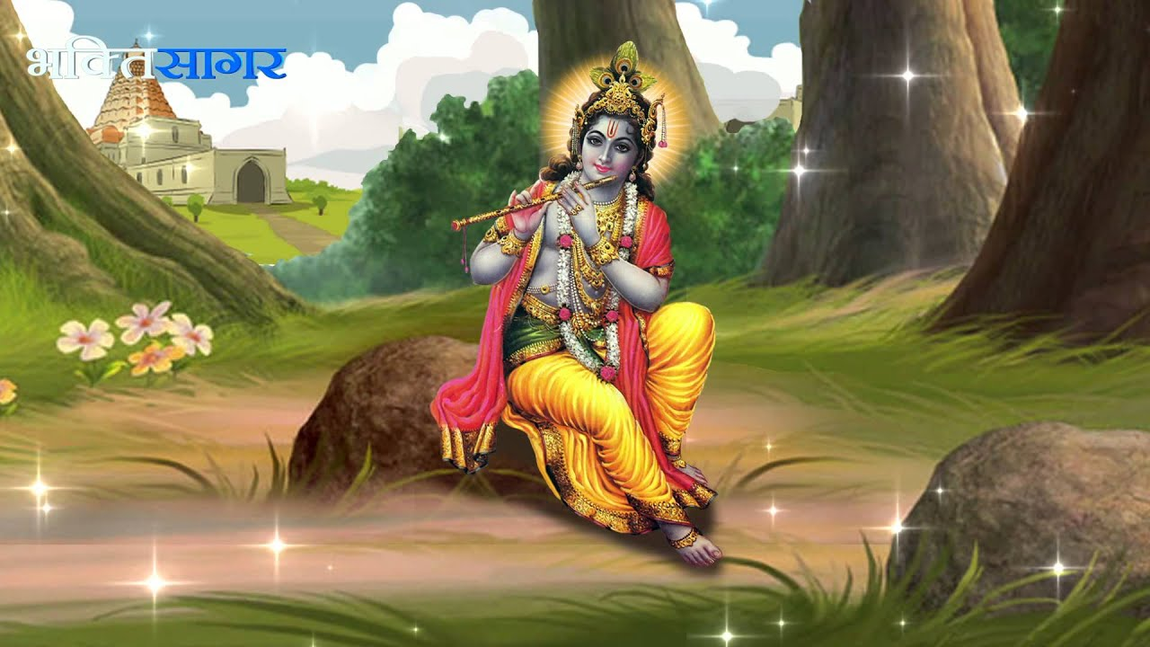 Popular Krishna with bansuri Wallpapers for free download