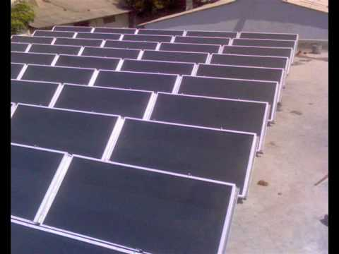 Solar hot air/drying application for Industry