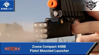 Zoxna Compact 40BB Pistol Mounted Launcher [The Gun Corner] - Airsoft Evike.com