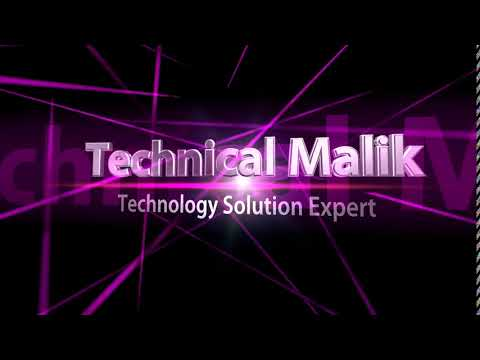 Technical Malik Intro