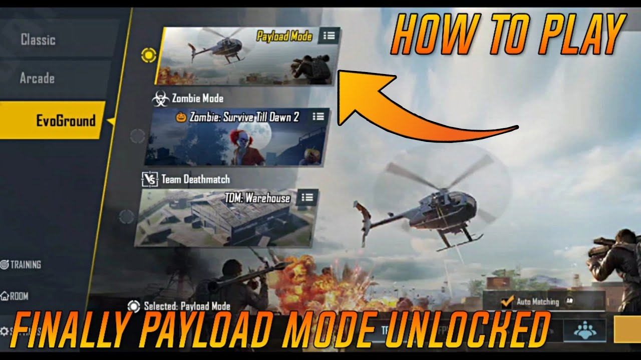 HOW TO PLAY PAYLOAD MODE | FINALLY PAYLOAD MODE UNLOCKED IN PUBG MOBILE 0.15.0 UPDATE IS HERE