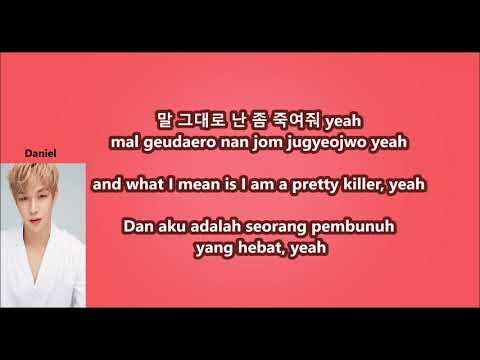 Wanna One - Energetic With Malay | Eng | Han | Rom Lyrics