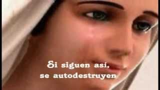 """""""Ave Maria"""" Celine Dion-_Hermosos mensajes de la Reina de la Paz. BENDITA ERES MARIA"""