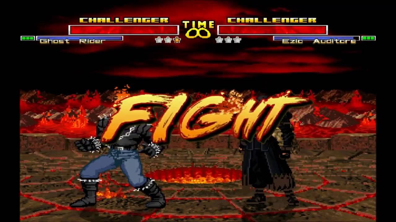 Mugen Ghost Rider Marvel Vs Ezio Auditore Assassin Creed My