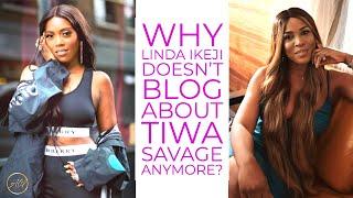 Why Linda Ikeji Doesn't Blog About Tiwa Savage Anymore