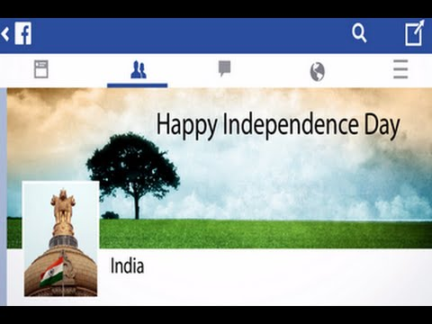 India's Facebook Timeline Journey - Happy Independence Day