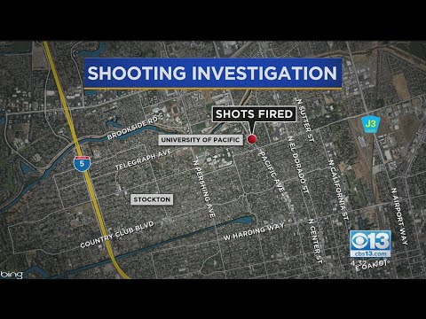 3 Detained After Reported Shooting Near UOP In Stockton
