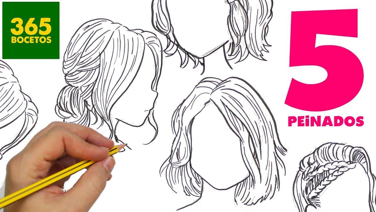 Lluvia de ideas peinados manga Colección de cortes de pelo estilo - Dibujos De Ninos: Bocetos De Dibujos Anime