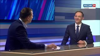 Смотреть видео Вести-24.Интервью Сергей Грахов 15.01.2019 онлайн