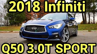 2018 Q50 3.0T Sport review 1080P HD