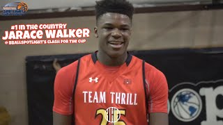 8th Grader Jarace Walker Is The #1 Player In The Class Of 2022 🇺🇸 Raw Highlights @ Bballspotlight