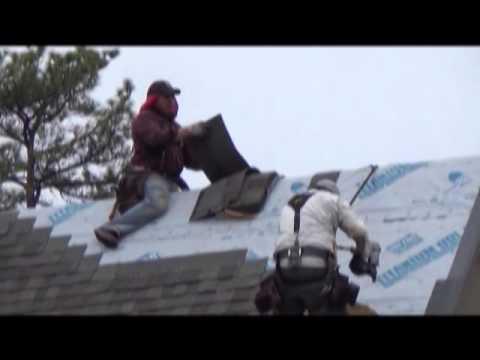 Homeowner Video Of Joe Chapman Roofing Crew Replacing Hail