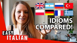 Italian Idiom Compared: To Have a Full Barrel and a Drunk Wife | Easy Italian 44