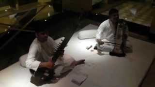 """Chveneburebi"" improvisation with Indian musicians"
