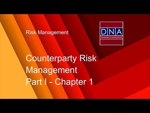 Counterparty Risk Management - Chapter 1