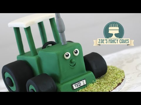 Tractor Ted Cake Tutorial Birthday