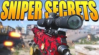5 Sniper SECRETS in Modern Warfare (Get an ADVANTAGE) | Call of Duty Modern Warfare Tips