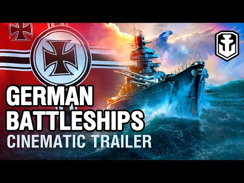 World of Warships - German Battleships