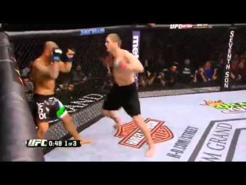 Thiago Alves vs  Jordan Mein KO TKO Knockout UFC 183