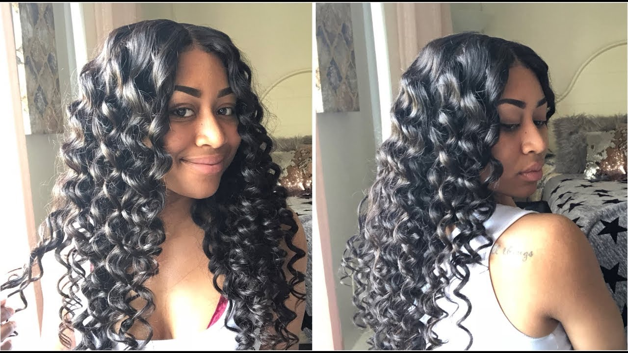 How to kinky twists crochet braids tutorial on short natural hair.