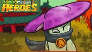Plants Vs Zombies Heroes: New Plant Hero Night Cap - Zombie Mission 10