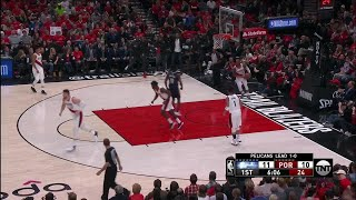 1st Quarter, One Box Video: Portland Trail Blazers vs. New Orleans Pelicans