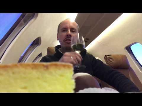 Being the only passenger on a Citation Private Jet Vienna—Zurich—Vienna