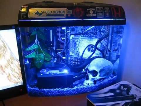 Mineral Oil Pc Aquarium Youtube