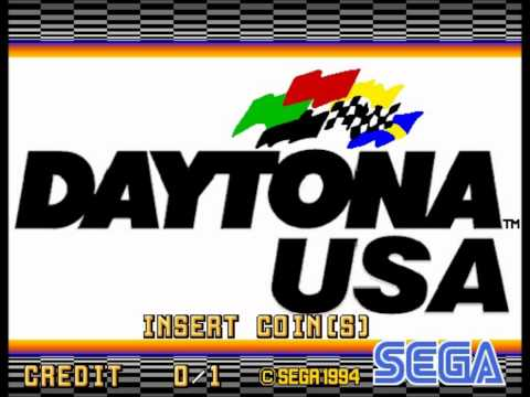 Daytona USA (Arcade) - Attract Theme (Let's Go Away)