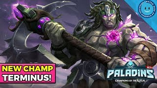 Paladins New Melee Frontline Champion, Terminus! HE COMES BACK FROM THE DEAD?! (Paladins OB61)