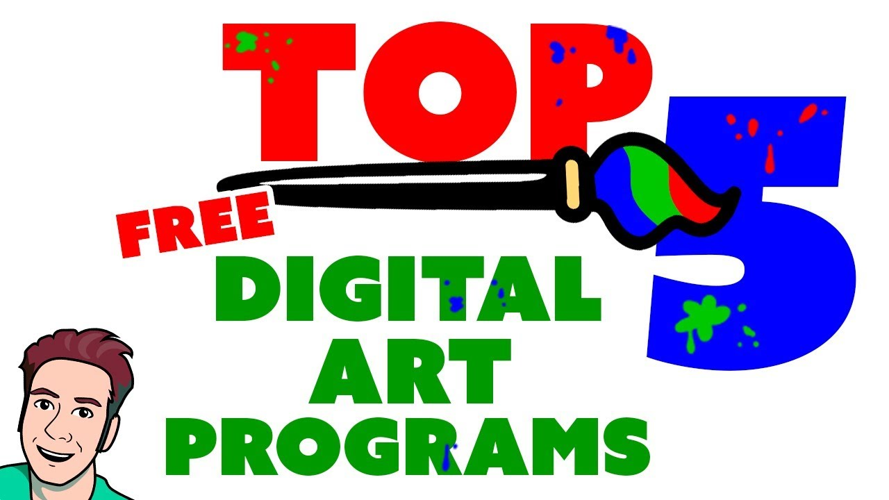 Top 5 Best Free Art Programs You Can Download Now Youtube
