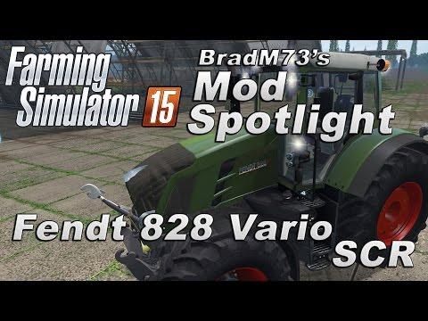 Farming Simulator 15 MOD SPOTLIGHT - Fendt 828 Vario SCR