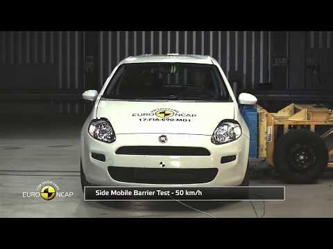Fiat Punto Kaza Testi (TR) 2017/ Euro NCAP Crash Test of Fiat Punto (0 Yıldız almış)