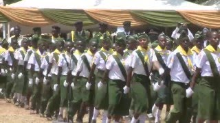 PATHFINDERS MARCH-PAST BEFORE KENYA