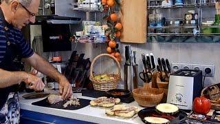 Утка запеченная с ананасами и японские ножи SAMURA - как правильно приготовить утку с фруктами