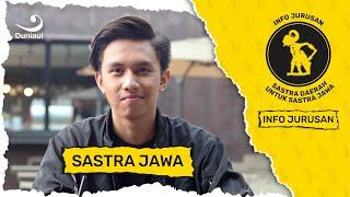 Info Jurusan Sastra Jawa, Bagus Aryaputra   FIB 2018