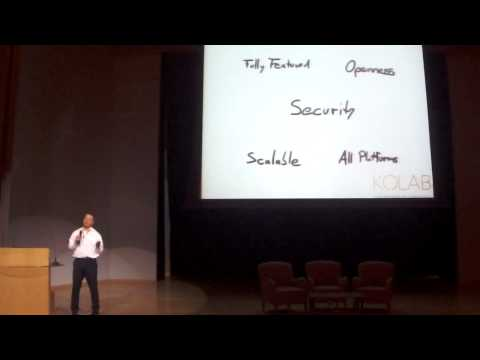Collaborate with ease and Confidence - Georg Greve - FOSSASIA Summit 2015